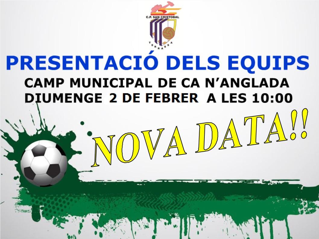PRESENTACIÓ DELS EQUIPS DEL CLUB